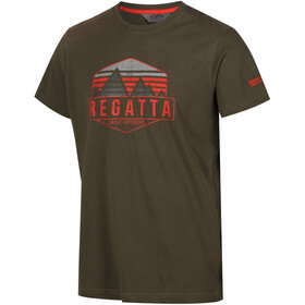 Regatta Cline II T-Shirt Men Ivy Green